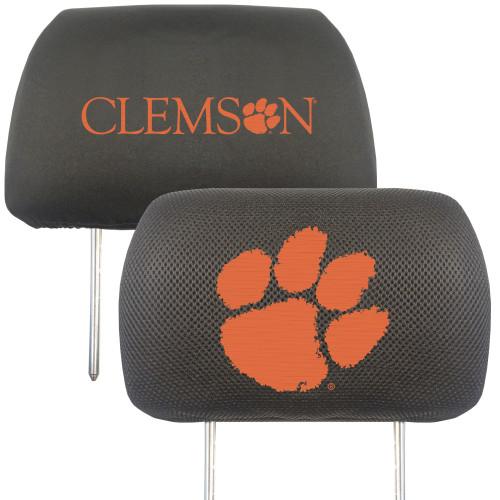 Clemson Tigers Headrest Covers FanMats