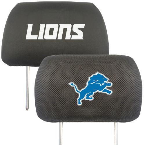 Detroit Lions Headrest Covers FanMats