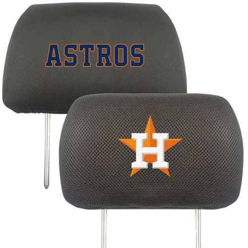Houston Astros Headrest Covers FanMats Special Order