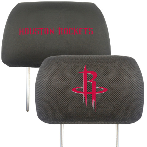 Houston Rockets Headrest Covers FanMats Special Order