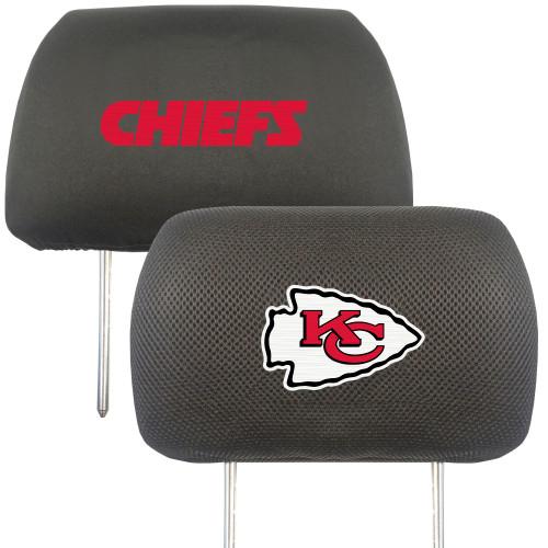 Kansas City Chiefs Headrest Covers FanMats