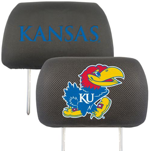 Kansas Jayhawks Headrest Covers FanMats