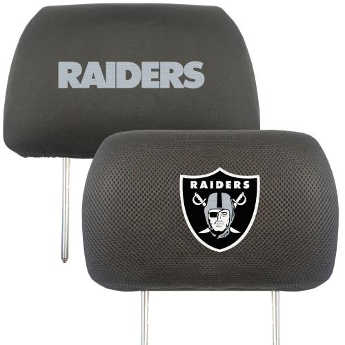 Las Vegas Raiders Headrest Covers FanMats