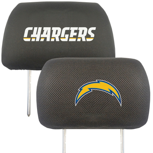 Los Angeles Chargers Headrest Covers FanMats