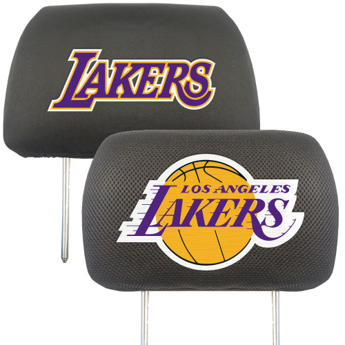 Los Angeles Lakers Headrest Covers FanMats