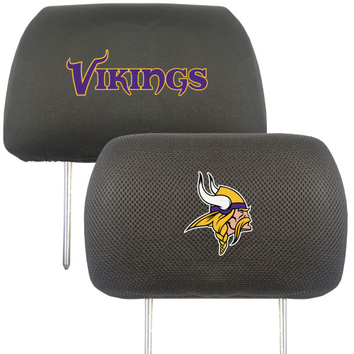 Minnesota Vikings Headrest Covers FanMats