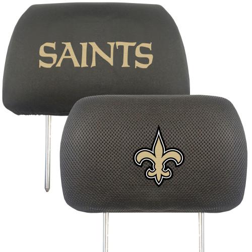 New Orleans Saints Headrest Covers FanMats