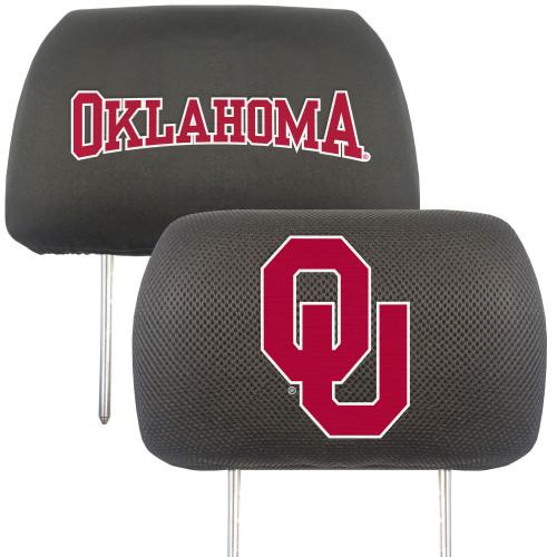 Oklahoma Sooners Headrest Covers FanMats