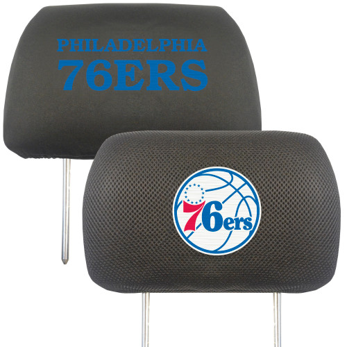 Philadelphia 76ers Headrest Covers FanMats Special Order