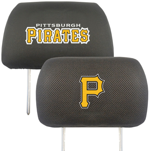 Pittsburgh Pirates Headrest Covers FanMats Special Order