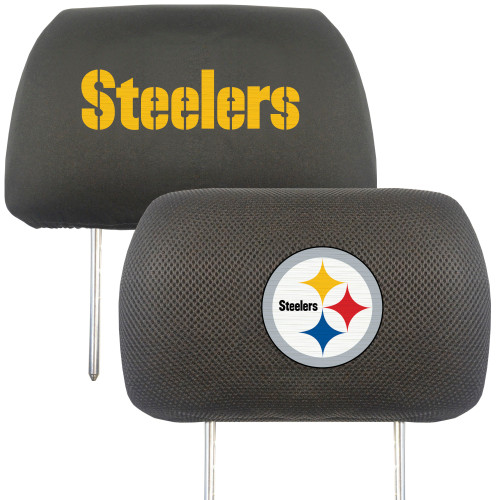 Pittsburgh Steelers Headrest Covers FanMats