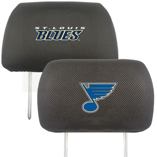 St. Louis Blues Headrest Covers FanMats Special Order