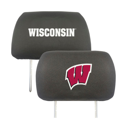 Wisconsin Badgers Headrest Covers FanMats