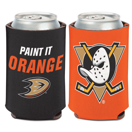 Anaheim Ducks Can Cooler Slogan Design Special Order