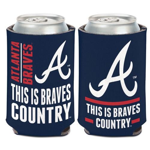 Atlanta Braves Can Cooler Slogan Design Special Order
