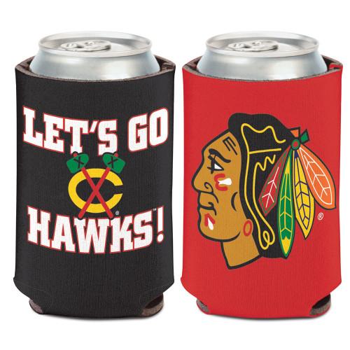 Chicago Blackhawks Can Cooler Slogan Design Special Order