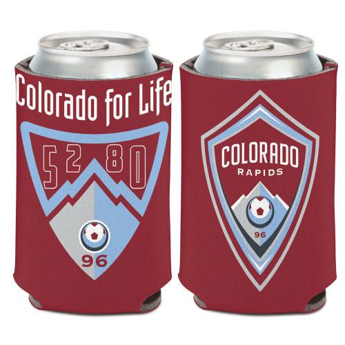 Colorado Rapids Can Cooler Slogan Design Special Order