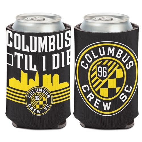 Columbus Crew SC Can Cooler Slogan Design Special Order