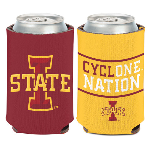 Iowa State Cyclones Can Cooler Slogan Design Special Order
