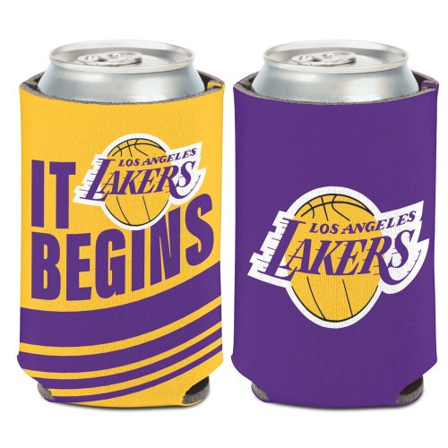 Los Angeles Lakers Can Cooler Slogan Design Special Order