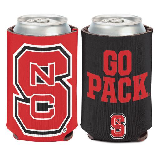 North Carolina State Wolfpack Can Cooler Slogan Design Special Order