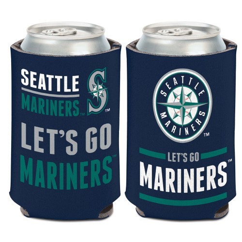 Seattle Mariners Can Cooler Slogan Design Special Order