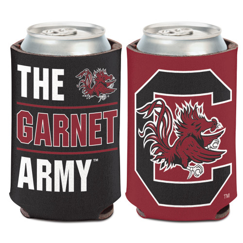 South Carolina Gamecocks Can Cooler Slogan Design Special Order