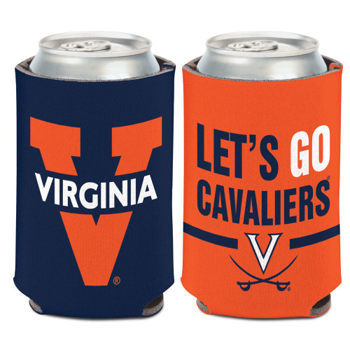 Virginia Cavaliers Can Cooler Slogan Design Special Order