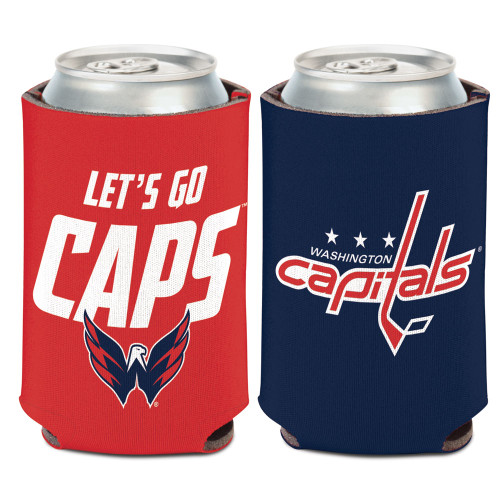 Washington Capitals Can Cooler Slogan Design Special Order
