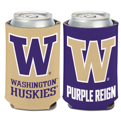 Washington Huskies Can Cooler Slogan Design Special Order