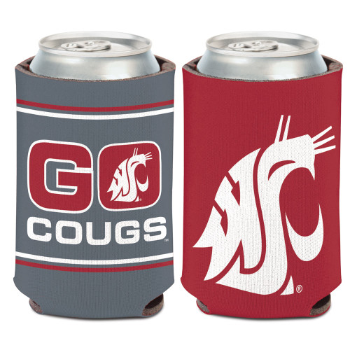 Washington State Cougars Can Cooler Slogan Design Special Order