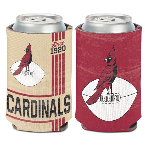 Arizona Cardinals Can Cooler Vintage Design Special Order