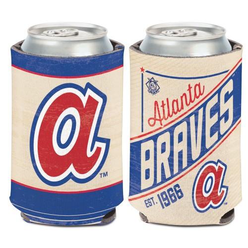 Atlanta Braves Can Cooler Vintage Design Special Order