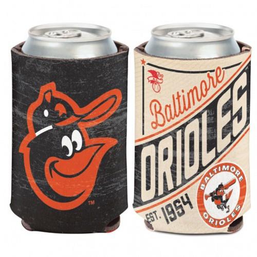 Baltimore Orioles Can Cooler Vintage Design Special Order