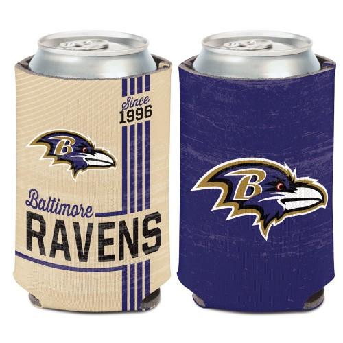 Baltimore Ravens Can Cooler Vintage Design Special Order