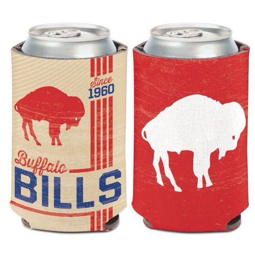 Buffalo Bills Can Cooler Vintage Design Special Order