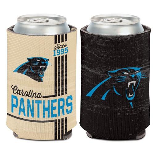 Carolina Panthers Can Cooler Vintage Design Special Order