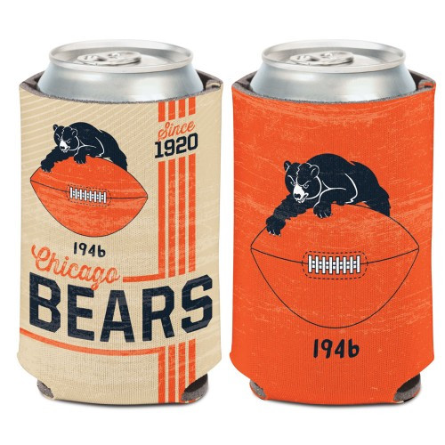 Chicago Bears Can Cooler Vintage Design Special Order