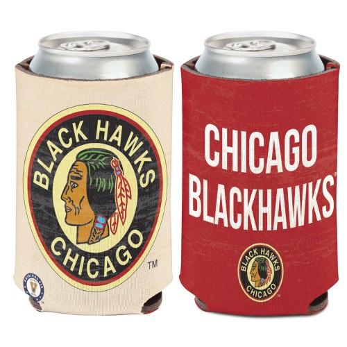 Chicago Blackhawks Can Cooler Vintage Design Special Order