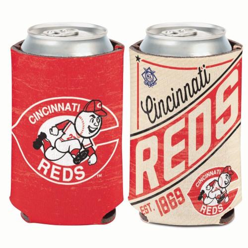Cincinnati Reds Can Cooler Vintage Design Special Order