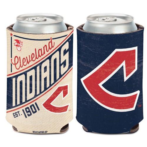 Cleveland Indians Can Cooler Vintage Design Special Order