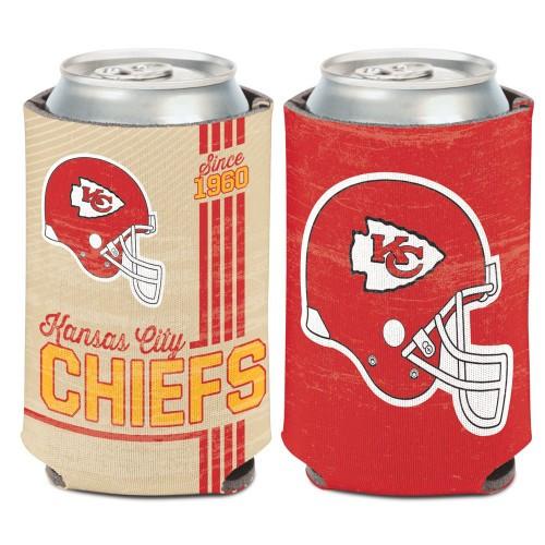 Kansas City Chiefs Can Cooler Vintage Design Special Order