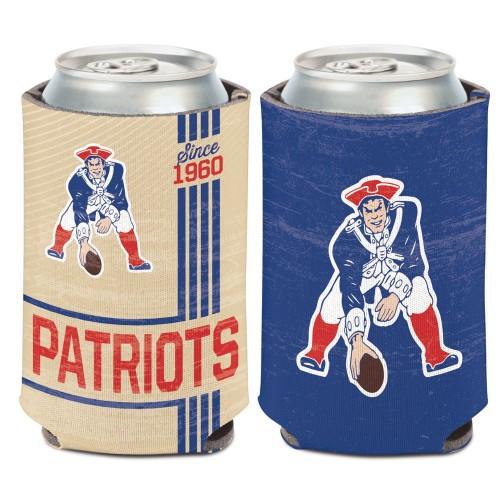 New England Patriots Can Cooler Vintage Design Special Order