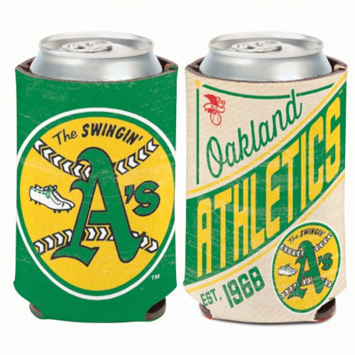 Oakland Athletics Can Cooler Vintage Design Special Order