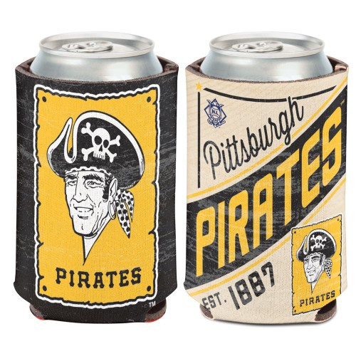 Pittsburgh Pirates Can Cooler Vintage Design Special Order