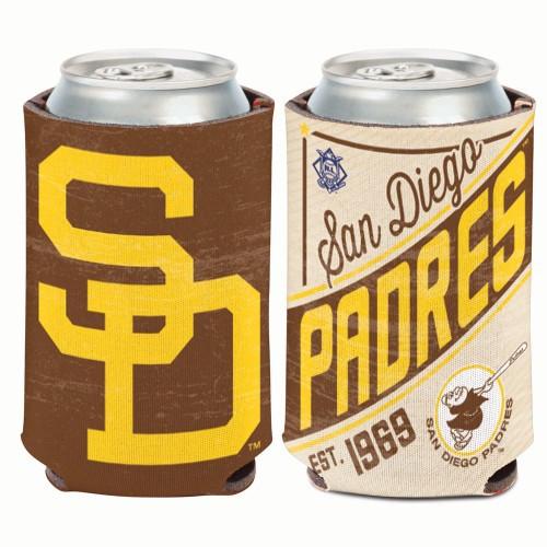 San Diego Padres Can Cooler Vintage Design Special Order