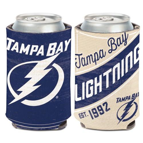 Tampa Bay Lightning Can Cooler Vintage Design Special Order