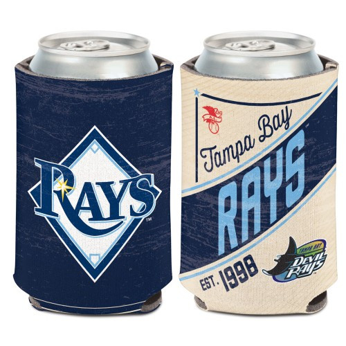 Tampa Bay Rays Can Cooler Vintage Design Special Order