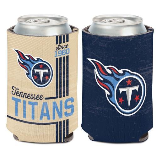 Tennessee Titans Can Cooler Vintage Design Special Order