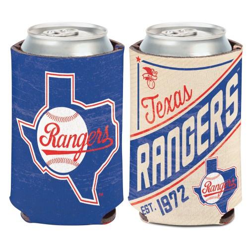 Texas Rangers Can Cooler Vintage Design Special Order